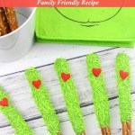 Grinch Pretzels Recipe Tutorial Easy Family Friendly Holiday Treat