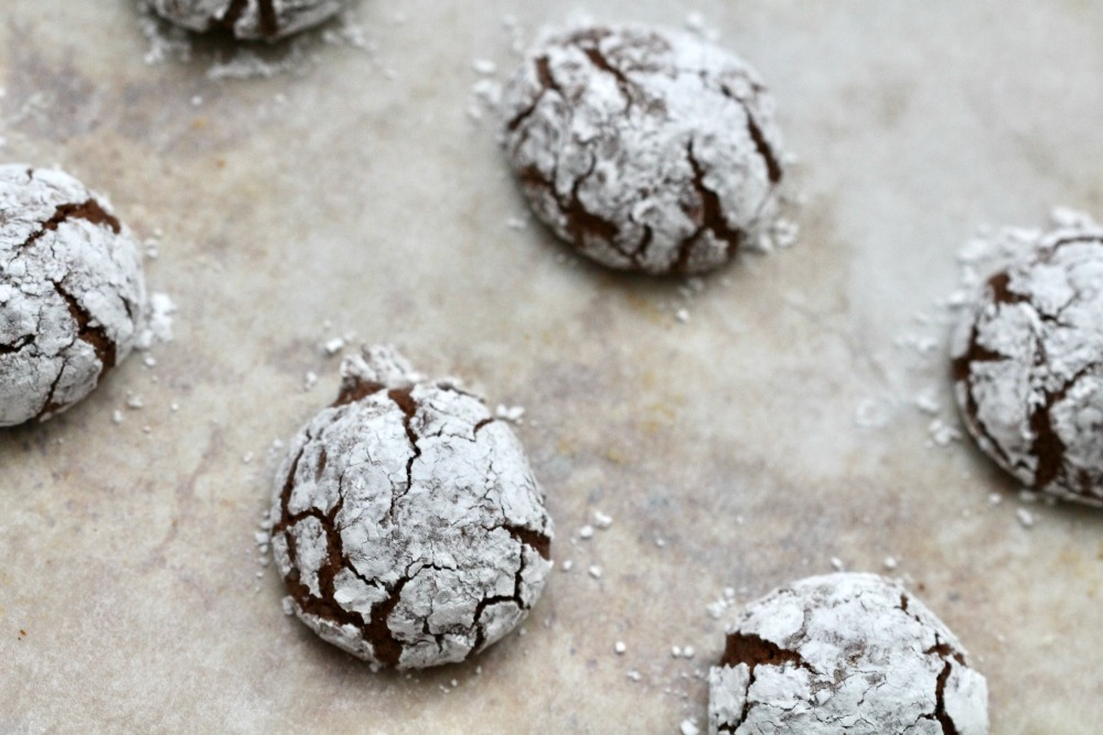 Chocolate Crinkle Cookies 1