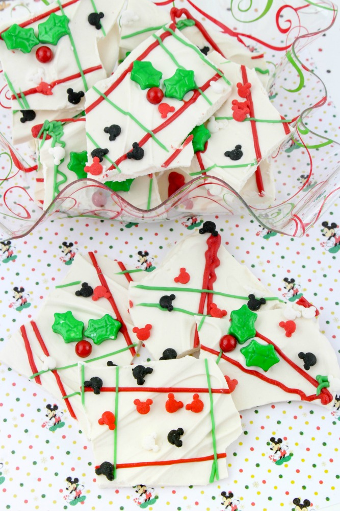 Mickey Mouse Christmas Bark, This Mom's Confessions