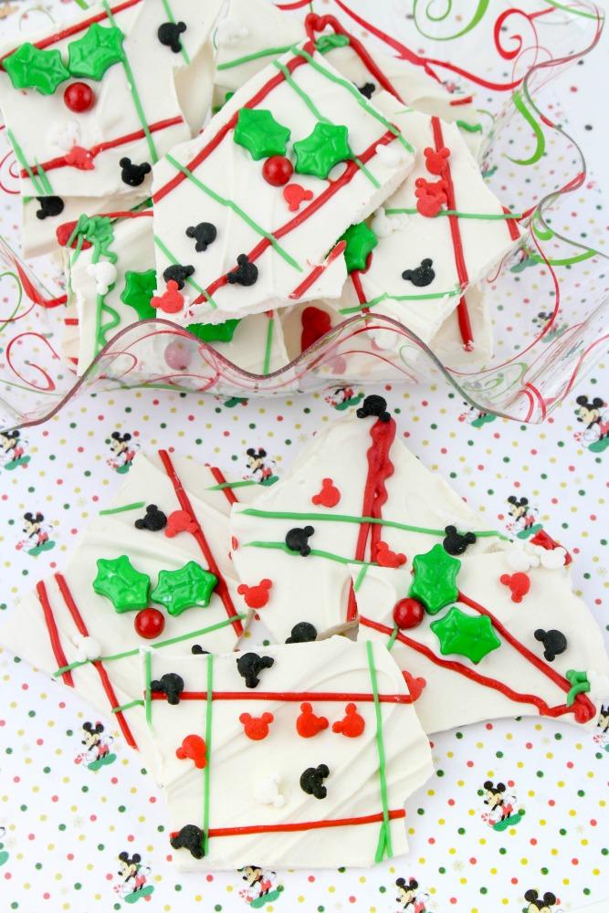 Mickey Mouse Christmas Bark Final 1