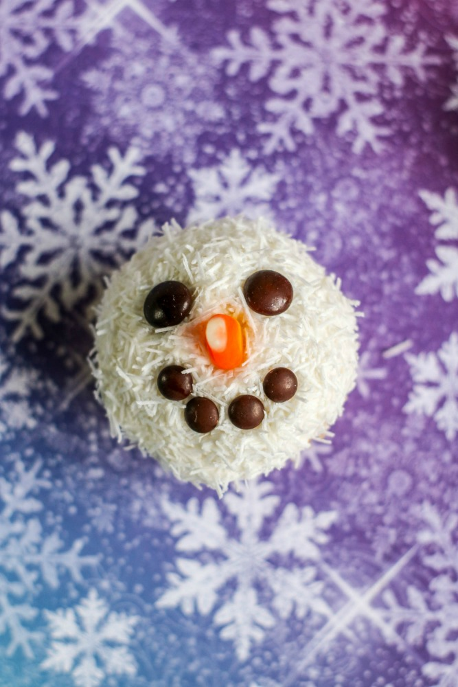 Snowman Cupcakes 4