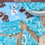 Disney's Frozen Chocolate Bark Candy Recipe Tutorial