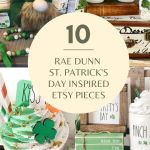The 10 Rae Dunn St. Patrick's Day Inspired Farmhouse Must-Have Etsy Items