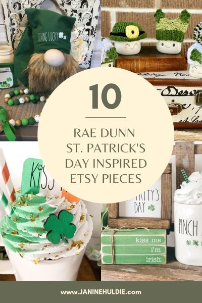 10 RAE DUNN ST. PATRICK'S DAY INSPIRED PIECES