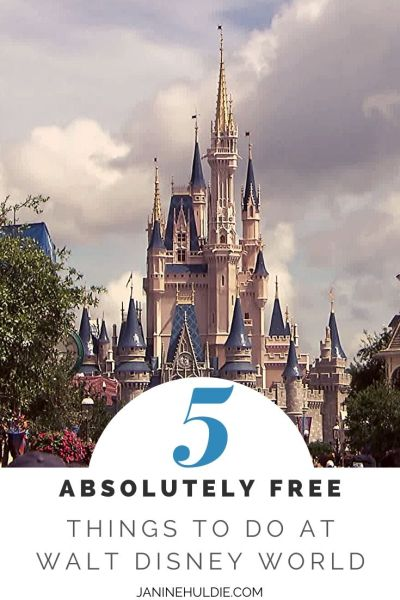 5 Absolutely Free Things to Do At Walt Disney World