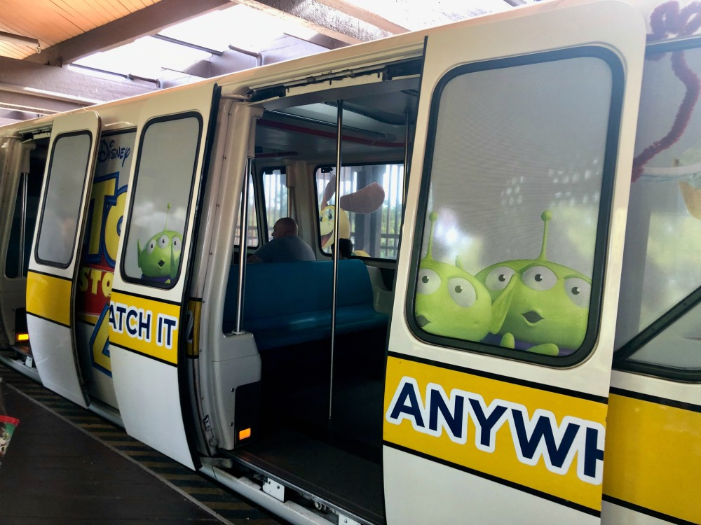 Disney World Monorail Toy Story