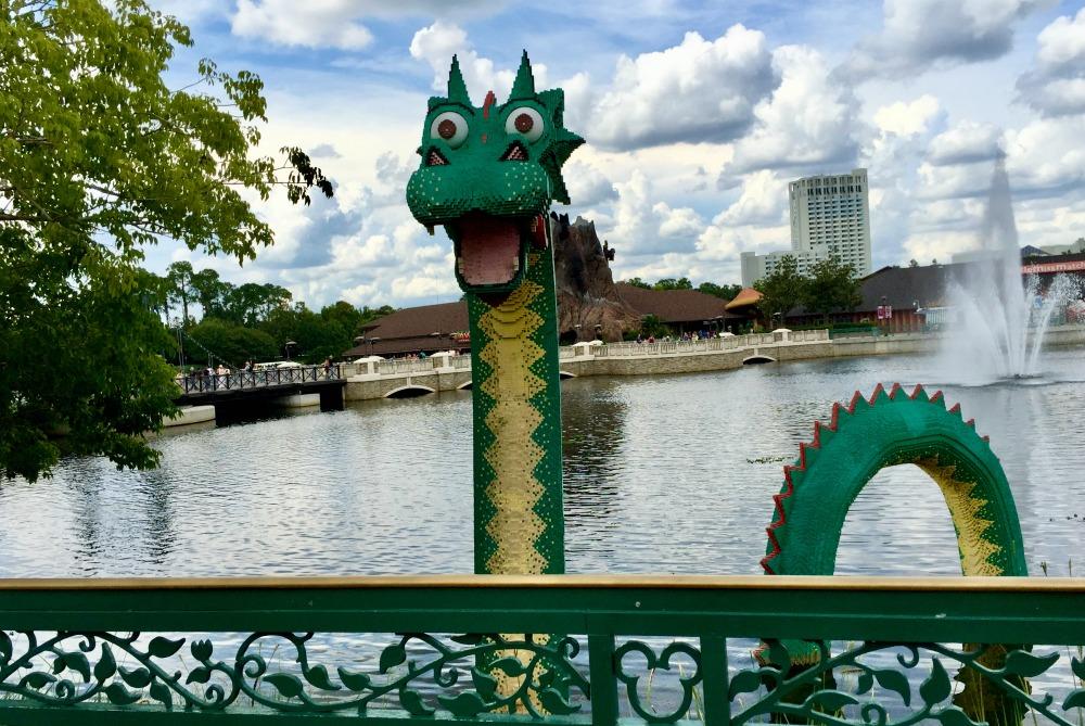 Lego Crocodile at Disney Springs