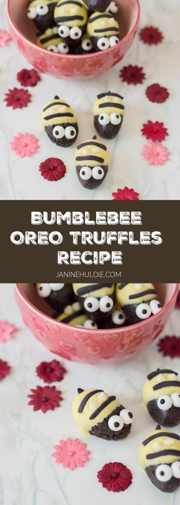 Bumble Bee Truffles Recipe