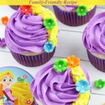 Rapunzel Cupcakes Recipe Tutorial