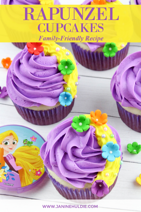 Rapunzel Cupcakes, This Mom's Confessions