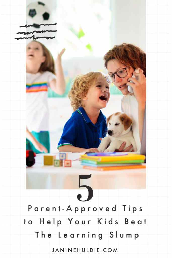 Parent-Approved Tips to Help Your Kids Beat The Learning Slump