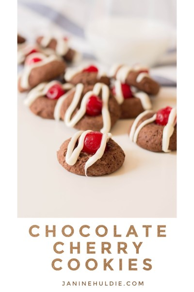 Chocolate Cherry Cookies Feature