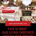 10 Hot Cocoa Bar Rae Dunn Inspired Home Decor Items on Etsy Gift Guide