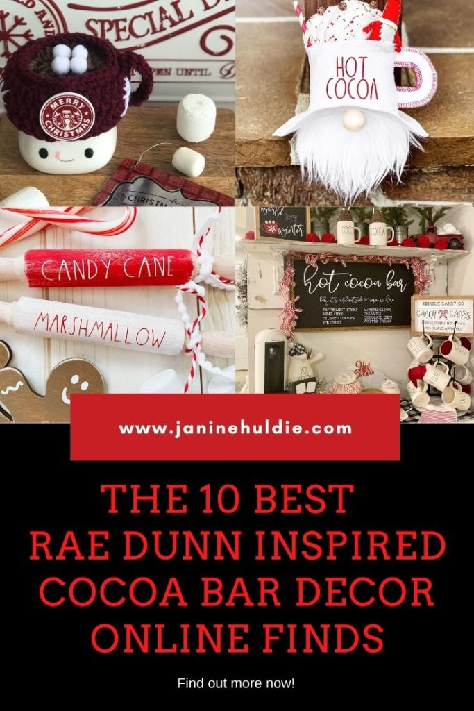THE 10 Best Etsy Cocoa Bar Rae Dunn Inspired Finds