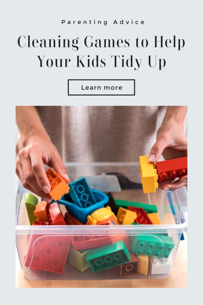Cleaning Games for Parents to Help Kids Clean Up