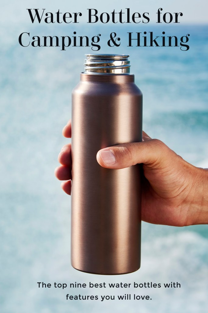 Water Bottles for Camping and Hiking