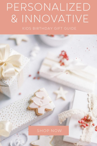 Personalized Birthday Gifts for Kids