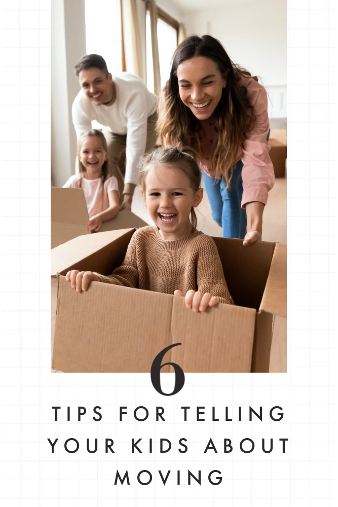 Telling Kids About Moving Tips