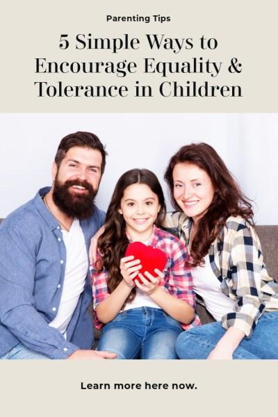 Teaching Tolerance in Children Tips