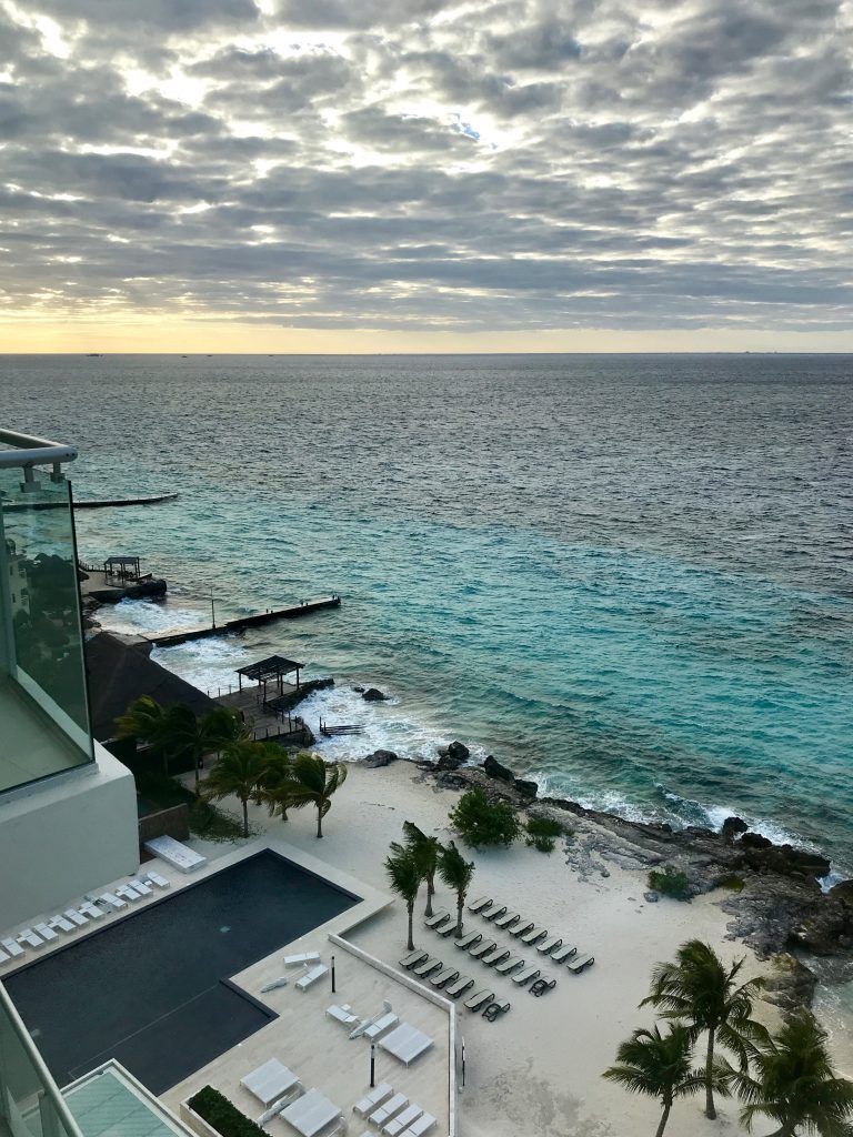 view from classic king room at the westin cozumel