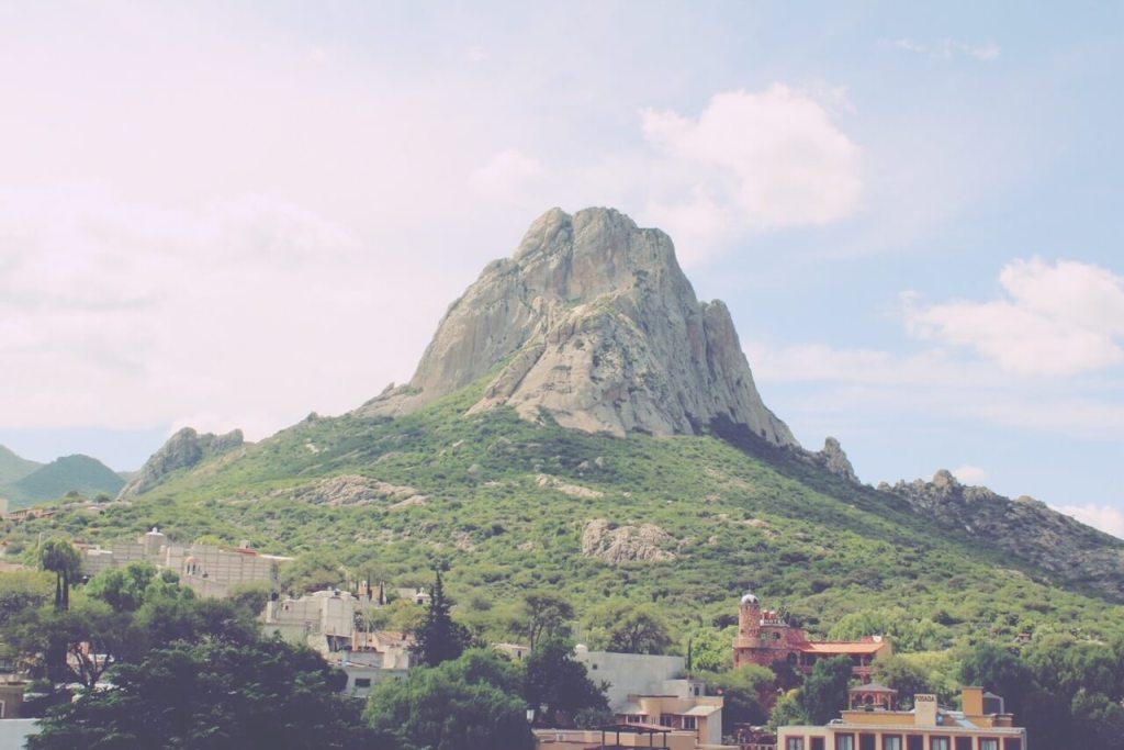 Peña de Bernal, Querétaro, Mexico.