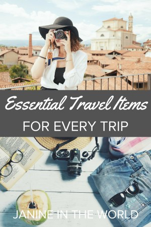 These must-pack travel essentials  for every trip! #packingtips #travel #traveltips #packing