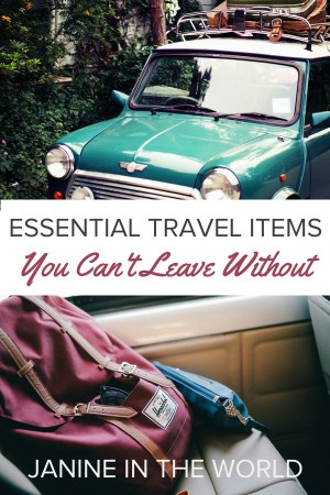 Don't forget to bring these essential travel items on your next trip! They'll help you save space, time, and money, and best of all, they can all fit in your carry on! #travel #traveltips #packingtips #packing #travelproducts #packinglist