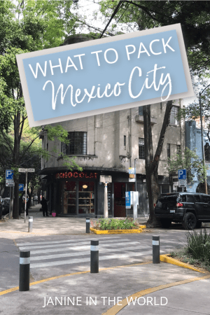 Wondering what to wear in Mexico City? This Mexico City packing list will let you know exactly what to bring on your trip! #mexicocity #cdmx #packingtips #mexicopacking #mexicotravel