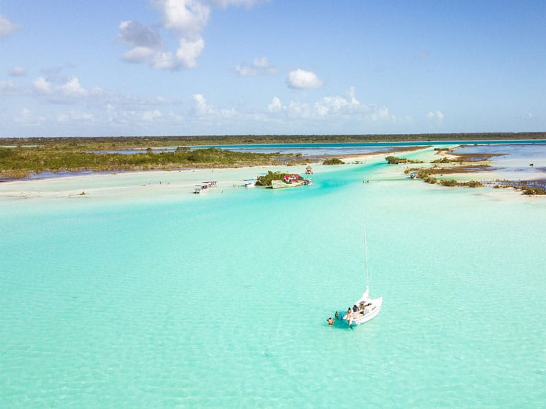 Bacalar Lagoon is paradise found in Quintana Roo, Mexico