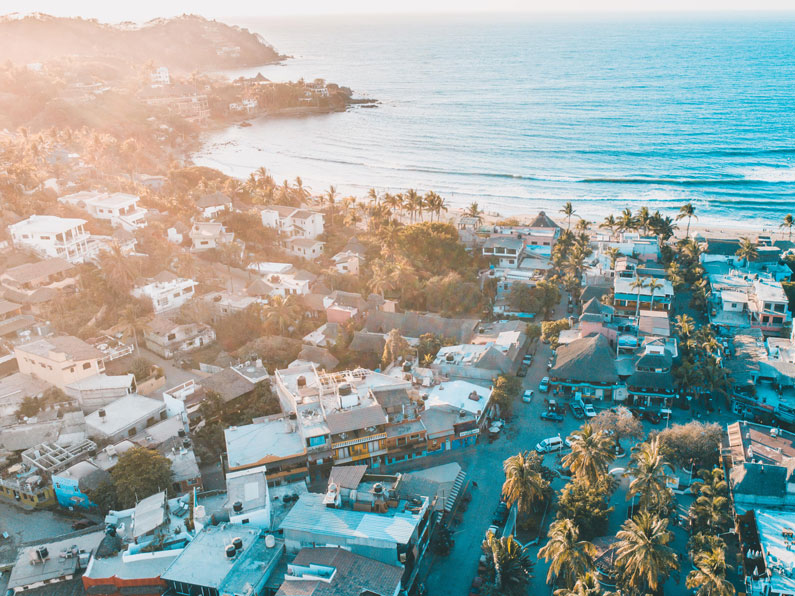 Sayulita, Mexico is a great surfing destination!