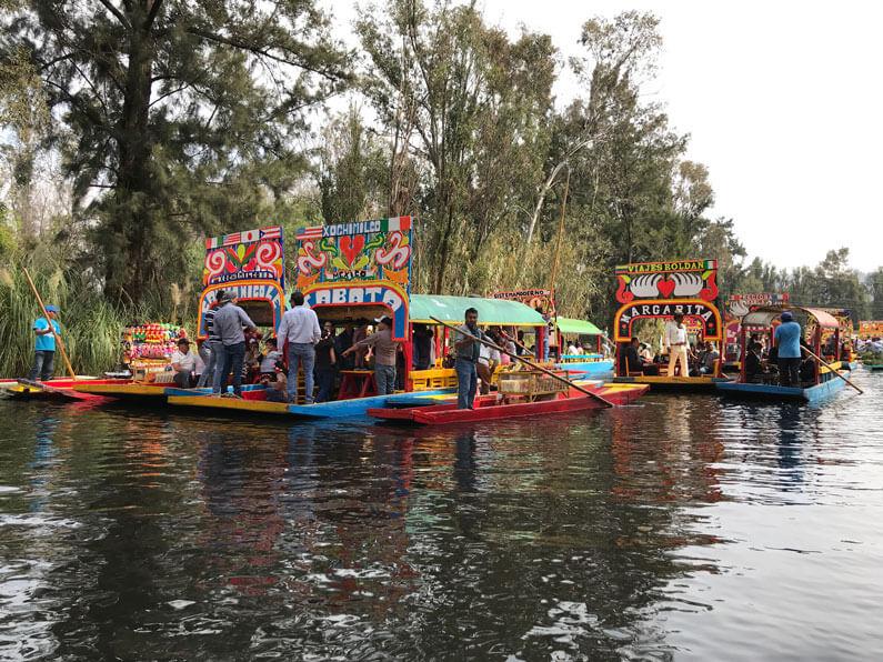 Xochimilco canals, Mexico City