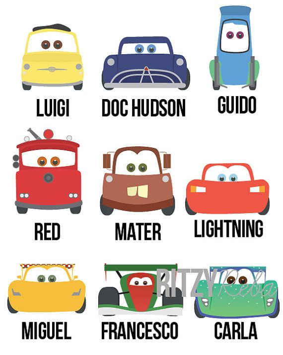 Disney Cars Wall Art