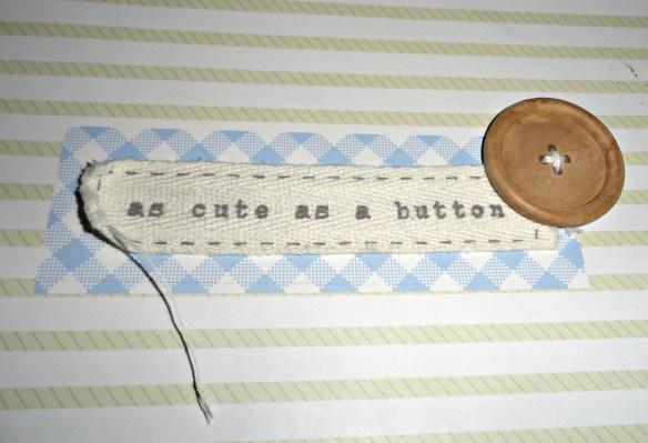 keepsake cute as a button