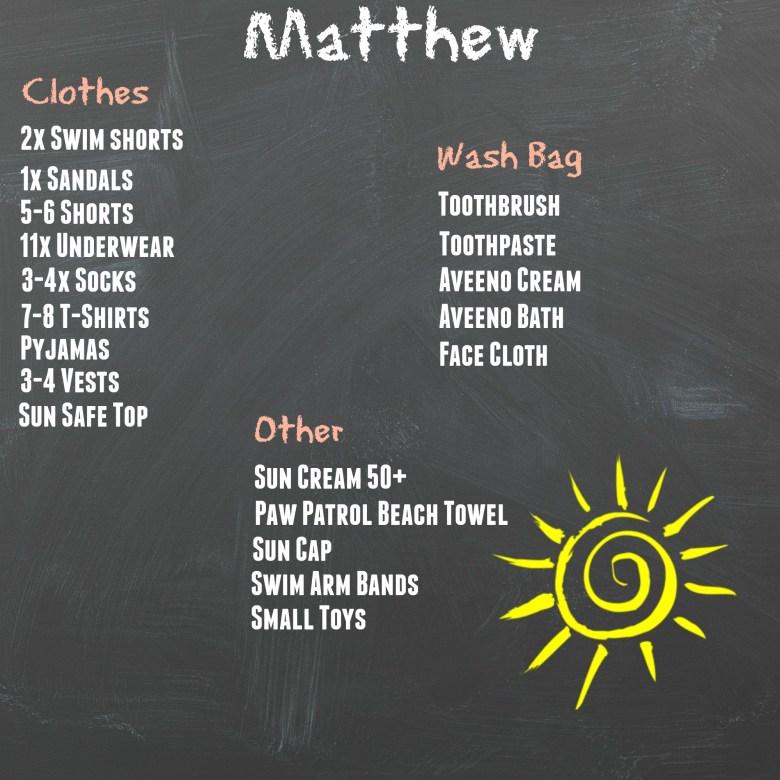 Matthew Holiday