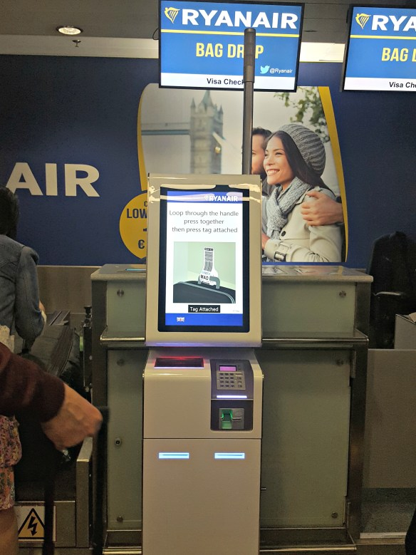 Ryanair Checkin
