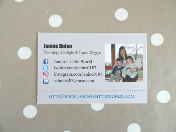 blogger business card2