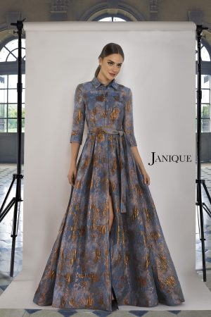 Jacquard Shirt Waist Dress