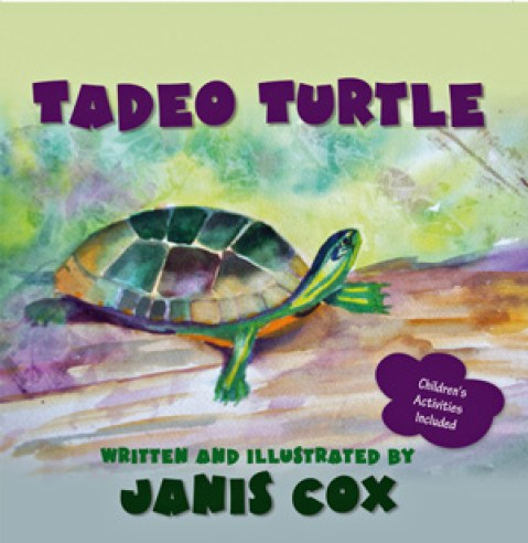 Tadeo Turtle by Janis Cox