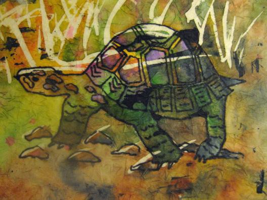 Batik turtle
