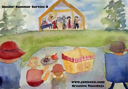 Watercolour - Janis Cox 2015