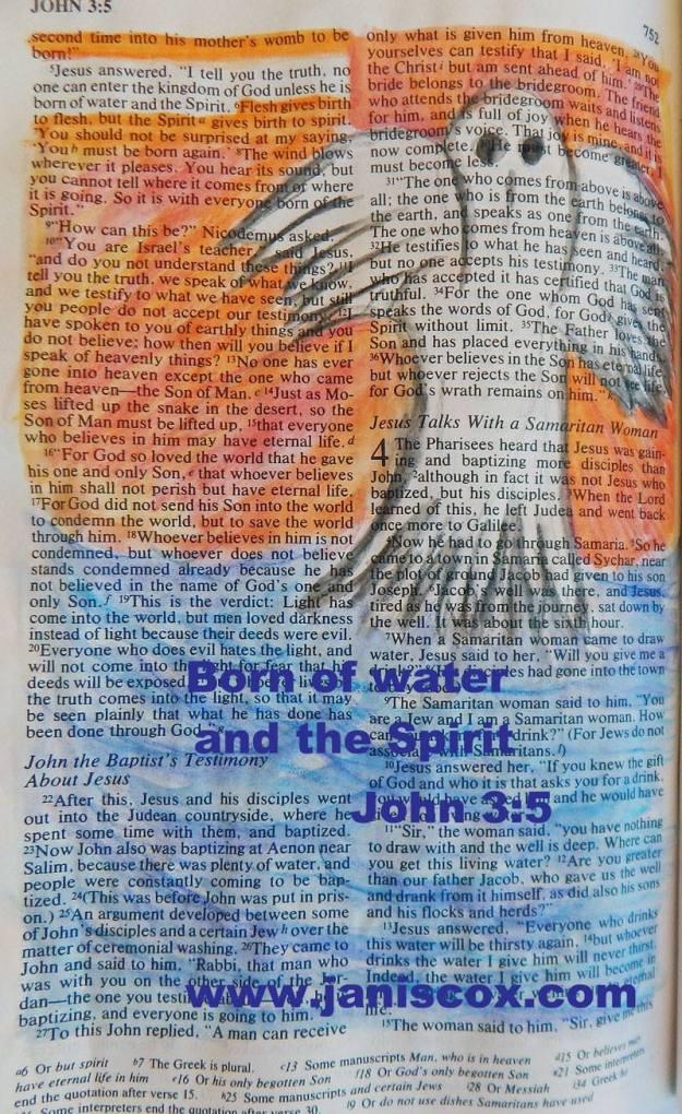 John 3-5 - Bible Painting