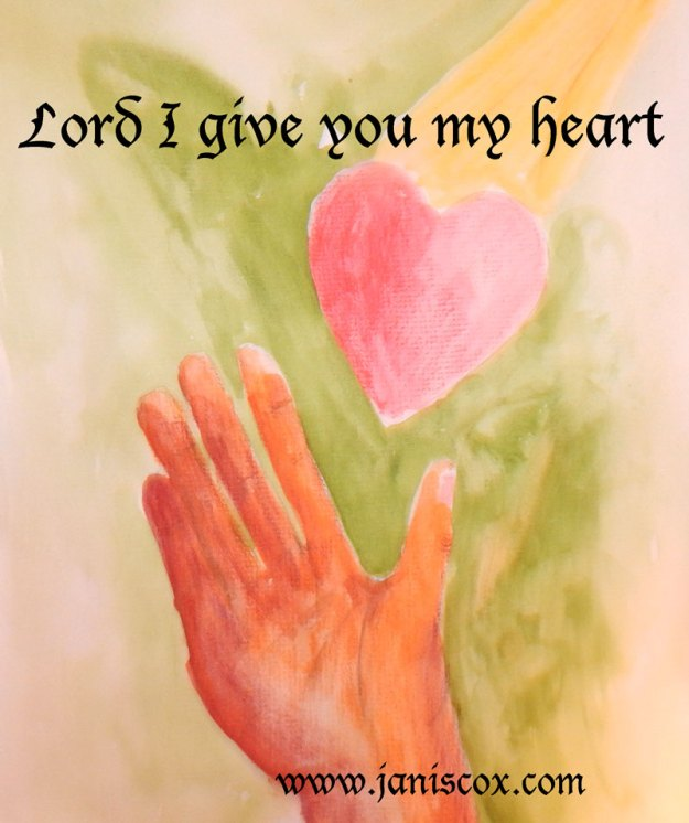 Lord I give you my heart 2