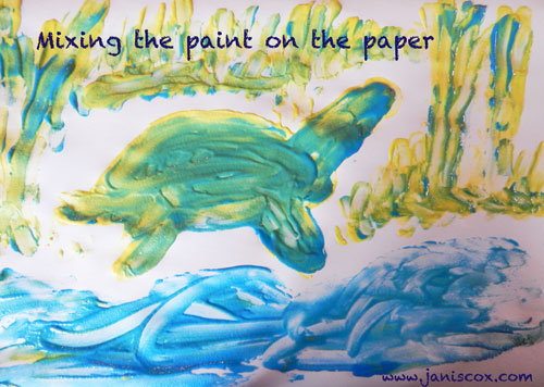 FP-Mixing-the-paint-on-the-paper