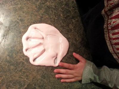 Flubber Handprint