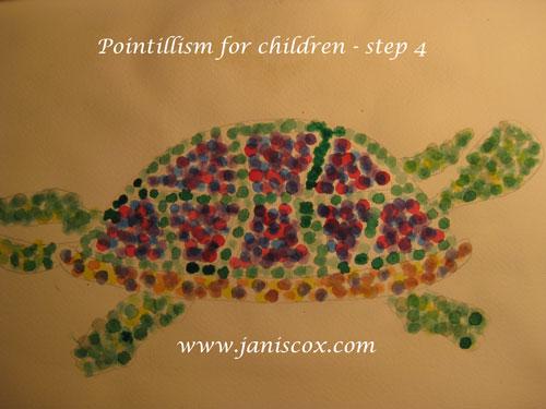 Pointillism step 4