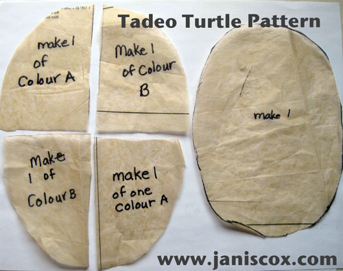 Tadeo Turtle Pattern