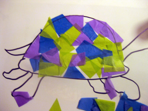 Tissue Paper - Tadeo Turtle