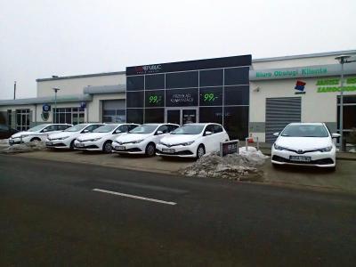 GRUPA Janisz - Usługi samochodowe - auta zastępcze - Toyota Auris