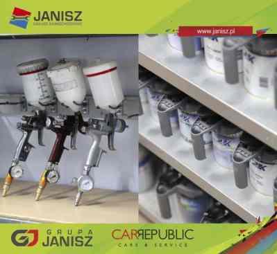 Nowoczesna kabina lakiernicza w Grupie JANISZ