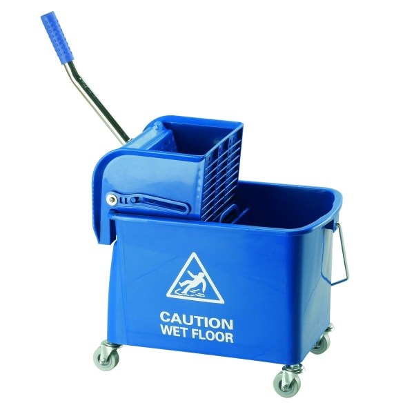 Picture of a Mop Bucket and Wringer